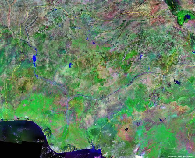 satellite-image-of-nigeria